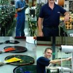 Portraits d'hommes au travail