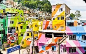 Favéla Santa Marta - Rio