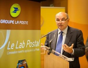 Jean-paul Bailly - président du groupe la poste